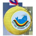 medaile zlatá