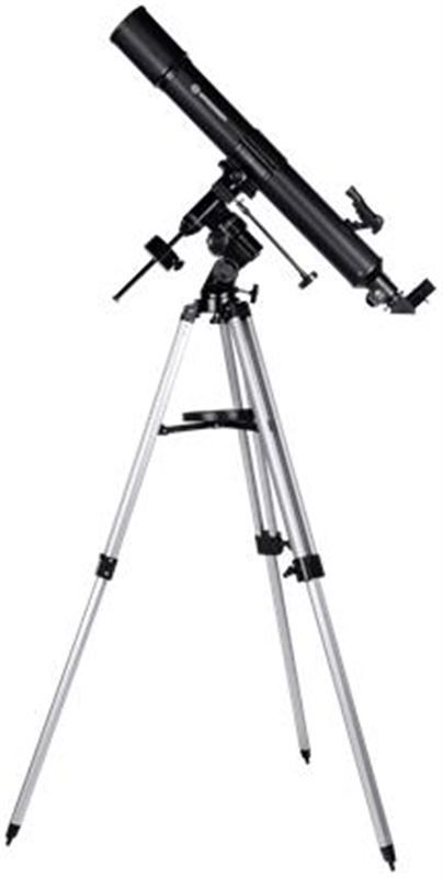 Bresser Quasar 80/900 EQ Telescope, with smartphon