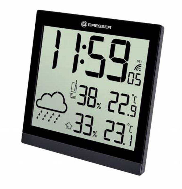 Bresser TemeoTrend JC LCD RC Weather Station-black
