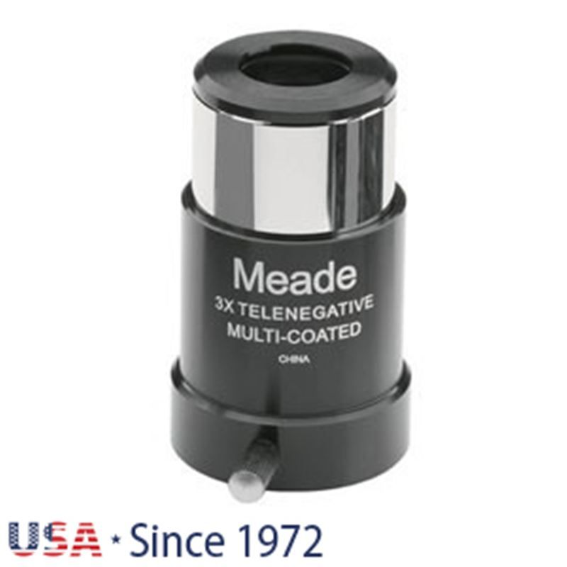 Meade Series 4000 128 3x Short- Focus Barlow 1.25""