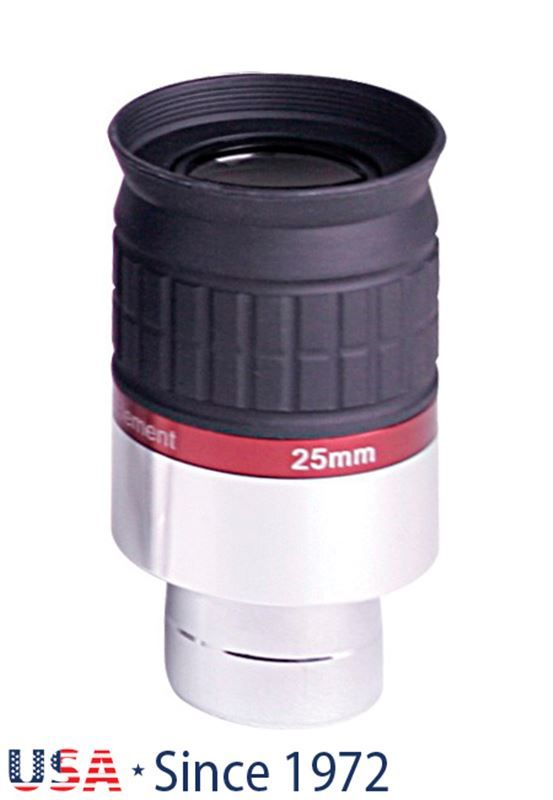 "Meade Series 5000 HD-60 25mm 1.25"" 6-element eyepi"