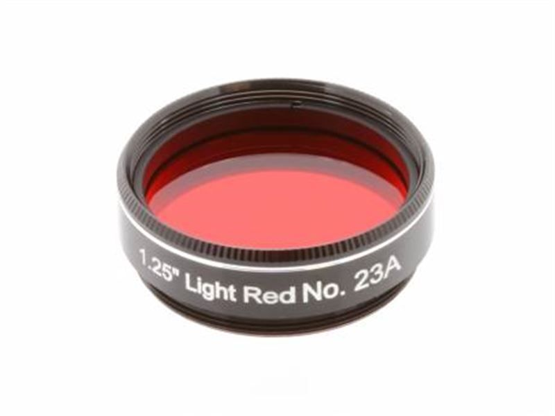 "Explore Scientific Light Red N23A 1.25"" Filter"