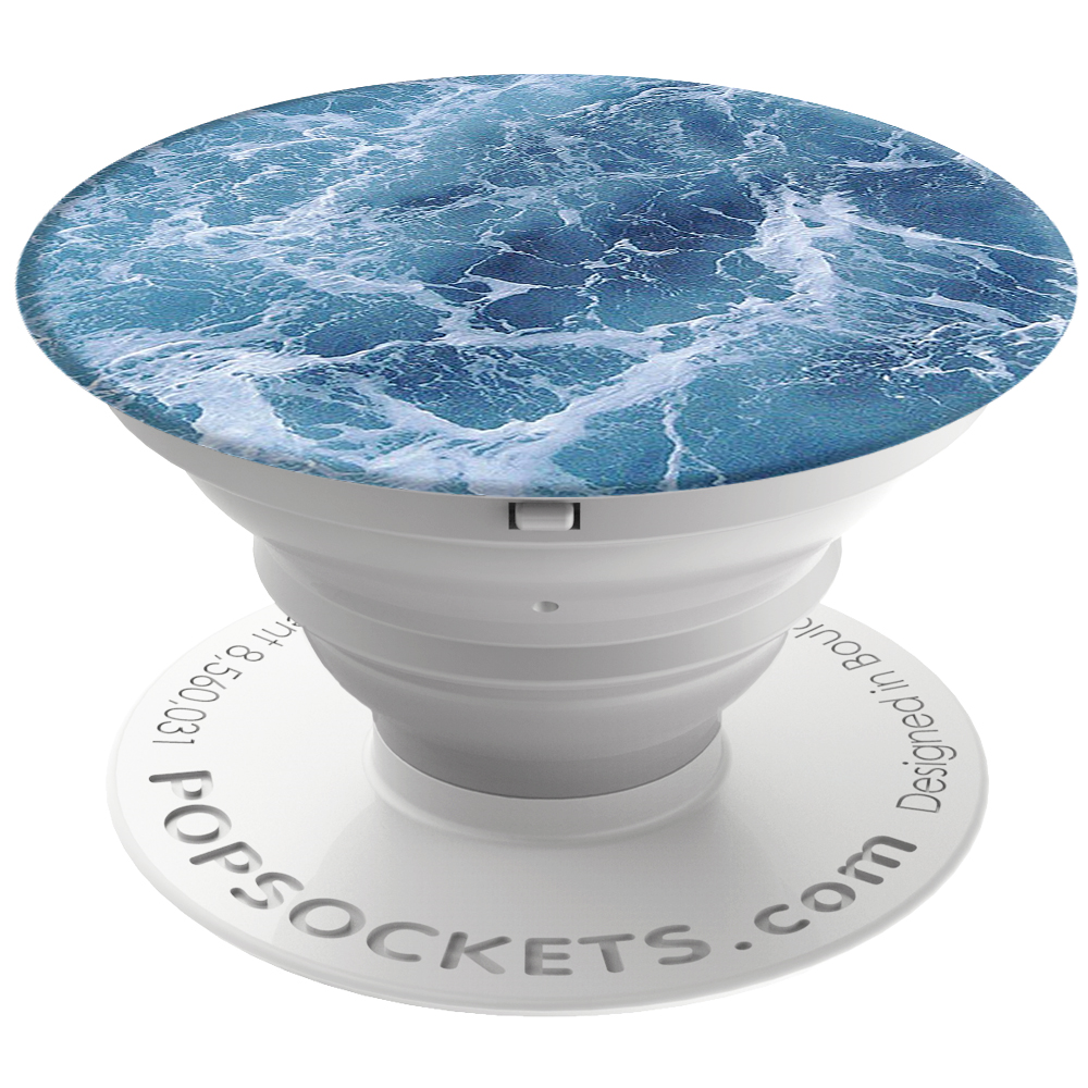 PopSockets Original PopGrip, Ocean From the Air, oceán