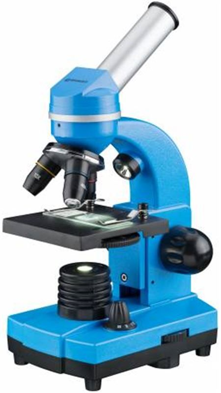 Bresser Junior Student Biolux SEL Microscope, blue
