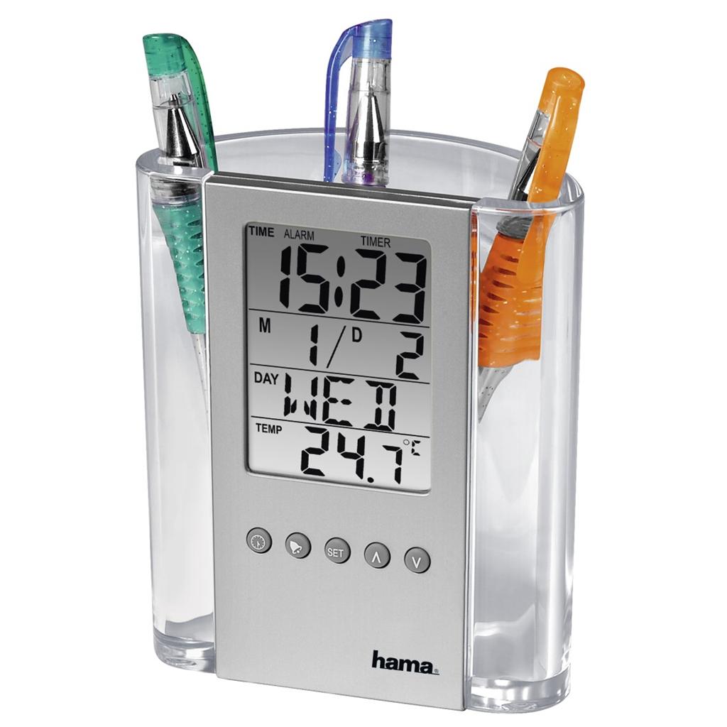 Hama LCD teploměr se stojánkem na tužky