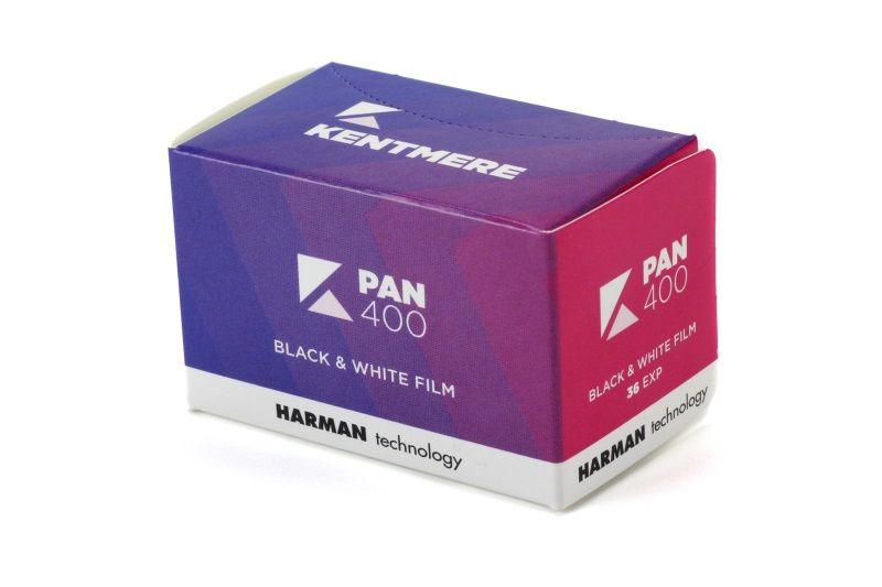 KENTMERE 400 135/36, černobílý film
